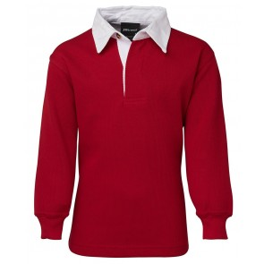 JBs wear Kids Rugby Shirt - Red White