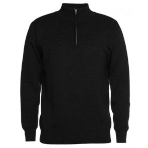 JBs wear Men's Corporate 1/2 Zip Jumper - Black