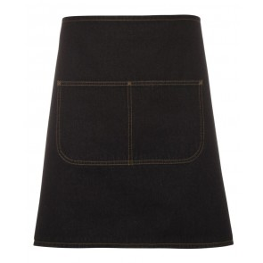 JBs wear Waist Denim Apron - Black Front