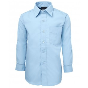JBs Wear Kids Long Sleeve Poplin Shirt