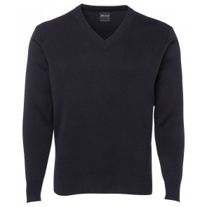 JBs wear Mens Knitted Jumper V Neck