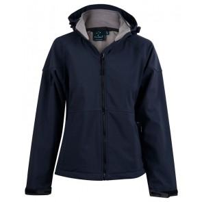 Winning Spirit Aspen Ladies Softshell Hood Jacket