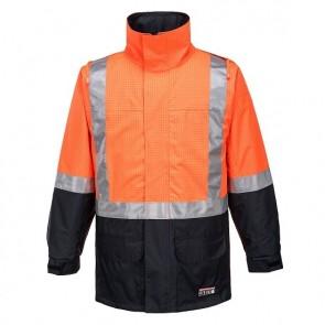 Huski Flame Resistant Hi Vis Amp Jacket