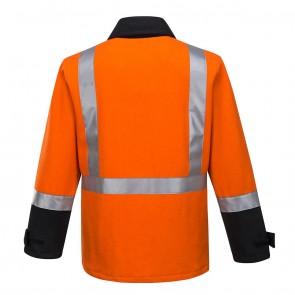 Huski Flame Resistant Hi Vis Bluey Jacket