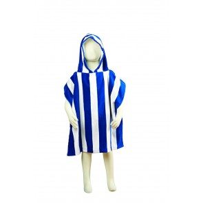 Fun Stripe Kids Poncho Towel