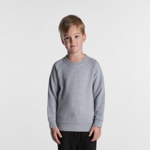 AS Colour Kids Supply Crew - Grey Marle Front