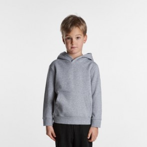 AS Colour Kids Supply Hood - Grey Marle Model front