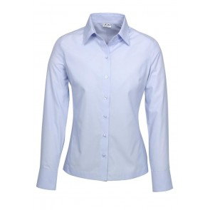 Ladies L/S Ambassador Shirt Blue S29520