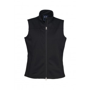 Ladies Soft Shell VEst Black