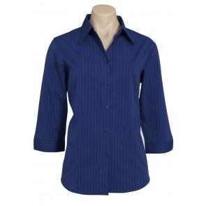 Biz Collection Ladies Manhattan ¾ Sleeve Shirt