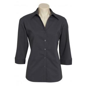 Biz Collection Ladies Metro 3/4 Sleeve Shirt
