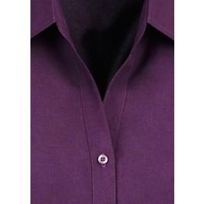 Biz Collection Ladies Plain Oasis Short Sleeve Shirt