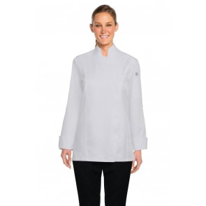 Chef Works Lansing Women's White Chef Jacket