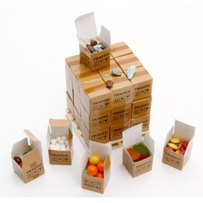 Confectionery Pallet Large Custom Printed Cubes Full Colour