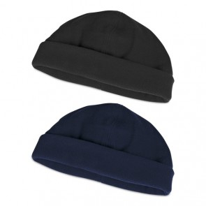 Legend Polar Fleece Beanie - Black & Navy