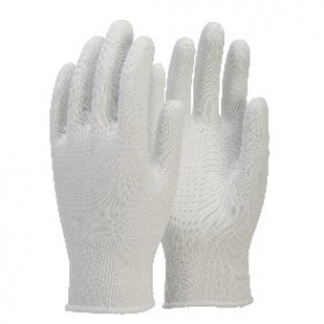Lint Free White Nylon Glove