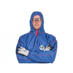 Force360 Defender Type 5,6 Disposable Coverall Blue