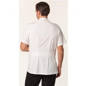 Benchmark Men's Stud Front Short Sleeve Jacket