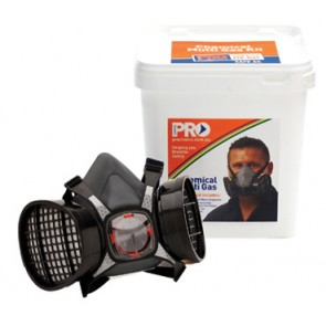 Maxi Half Mask 2000 Respirator Chemical - Bucket Pack