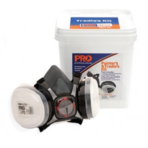 Maxi Half Mask 2000 Respirator Tradies and Painters Kit - Bucket Pack