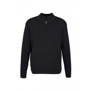 Biz Collection Mens 80/20 Wool Rich Pullover