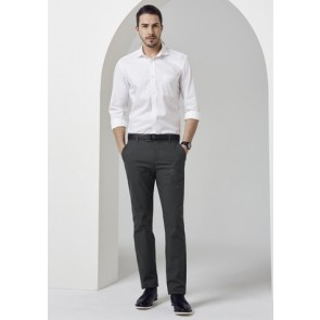 Biz Collection Men's Barlow Pant - Grey Model