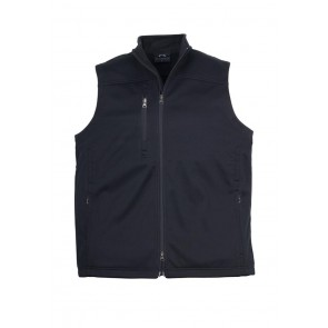 Mens BIZ TECH™ Soft Shell Vest Black J3881