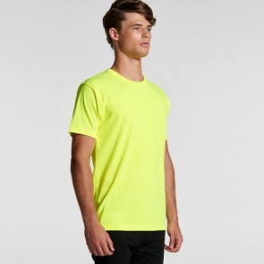 AS Colour Men's Block Tee (Safety Colours)
