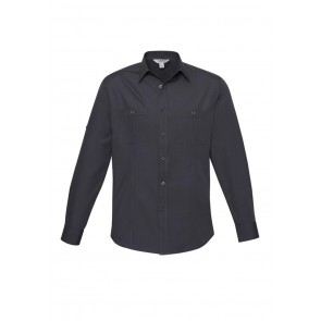Biz Collection Men's Bondi Long Sleeve Shirt