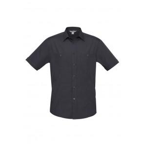 Biz Collection Mens Bondi Short Sleeve Shirt