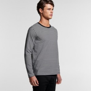 AS Colour Men's Bowery Stripe Long Sleeve Tee