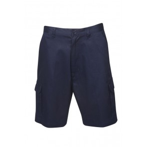 Budget Light Weight Cargo Navy Shorts 190gsm-  Front