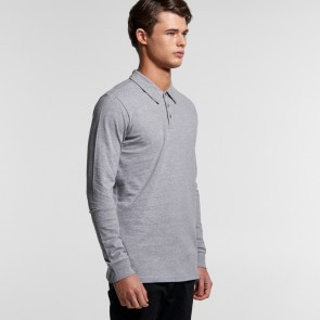 AS Colour Men's Chad Long Sleeve Polo