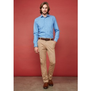 Biz Collection Mens Lawson Chino - Dark Stone  Model