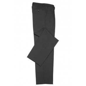 Biz Collection Mens Classic Flat Front Pant