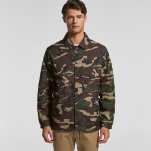 AS Colour Men's Coach Camo Jacket