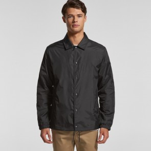 AS Colour Men's Coach Jacket - Model Front