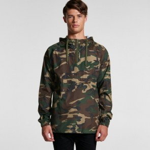 AS Colour Men's Cyrus Camo Windbreaker Model Front