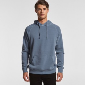 AS Colour Men'S Faded Hood - Faded Blue Model Front