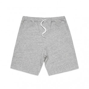 AS Colour Men's Fleck Track Shorts - Grey Fleck Front