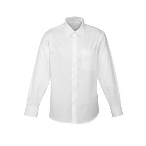 Biz Collection Mens Luxe Long Sleeve Shirt