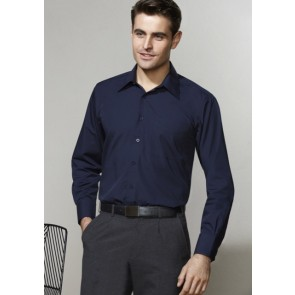 Biz Collection Men's Metro Long Sleeve Shirt - Model