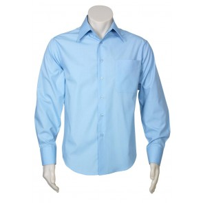 Biz Collection Mens Metro Long Sleeve Shirt