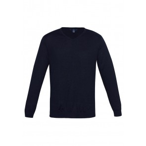 Biz Collection Mens Milano V Neck Pullover