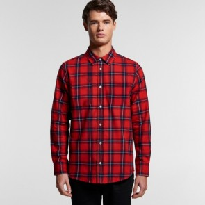 AS Colour Men's Plaid Shirt