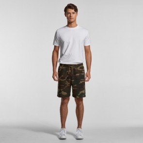 AS Colour Men's Stadium Camo Shorts - Front