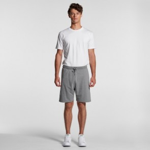 AS Colour Men's Stadium Shorts - Side Steel Grey