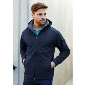 Biz Collection Men's Summit Jacket - Navy Graphite Model