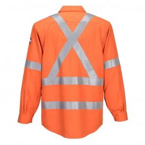 Portflame HV Flame Resistant X Back Long Sleeve Shirt