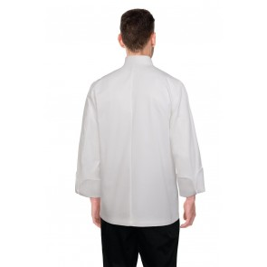 Chef Works Milan White 100% Cotton Chef Jacket